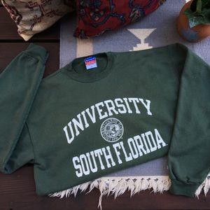 Vintage Champion University South Florida Sweater